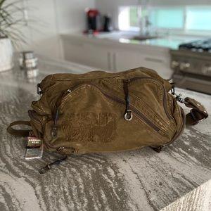 Military style crossbody bag